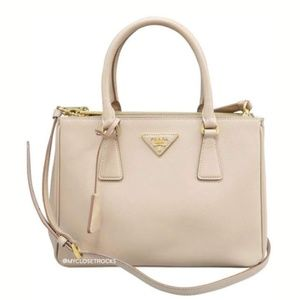 9edff9c08667 Women's Prada Saffiano Lux Double Zip Tote on Poshmark